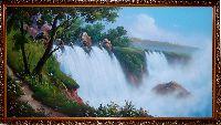 Купить картину Бушующий Водопад