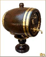 Бочка Ореховое дерево (1,7 литр) из обсидиана