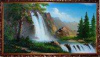 Купить картину Горный Водопад