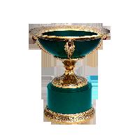 Чаша украшенная Нефрит. Цена