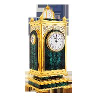 Часы настольные Малахит. Цена