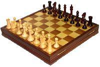 Красивые деревянные шахматы