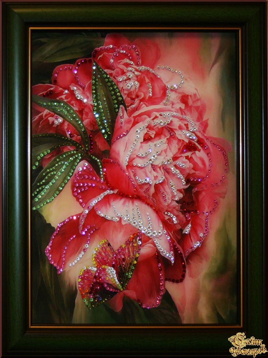 Цветы сваровски фото и