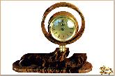 Часы Кольцо из обсидиана