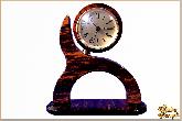Часы Волна из обсидиана