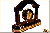 Часы Арка маленький из обсидиана