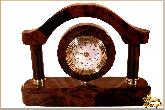 Часы Арка большой из обсидиана