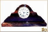 Часы Люкс из обсидиана