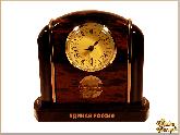 Часы Офисные из обсидиана