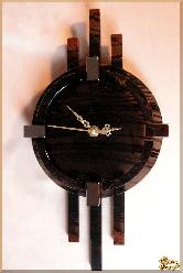 Часы Настенные Классические из обсидиана