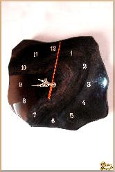 Часы Настенные Обстрактные из обсидиана