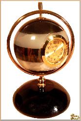 Часы Гармония из обсидиана