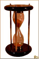 Часы Песочные Тор из обсидиана