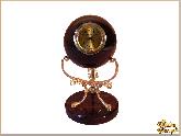 Часы Орхидея из обсидиана