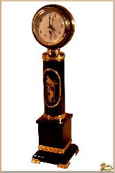 Часы Ромео и Джульетта из обсидиана