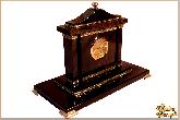Часы Авангард из обсидиана