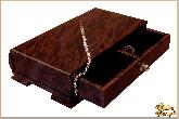 Шкатулка Стеллаж из обсидиана