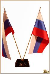 Флаг Близнецы из обсидиана