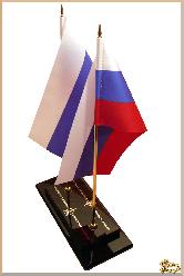 Флаг Корпоративный из обсидиана