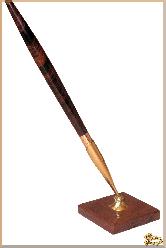 Письменный комплект Традиционный из обсидиана