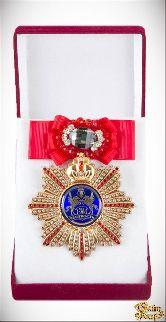 Большой Орден За честность (красный бант, брошь)