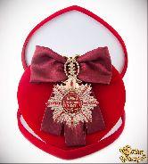 Большой Орден Золотой босс (бордовая лента)