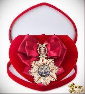 Большой Орден За мужество (малиновая лента)
