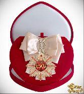 Большой Орден Юбилей 50 (кремовая лента)