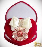 Большой Орден Золотой босс (белая лента)