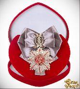 Большой Орден С Днем Рождения! (серебряная лента)