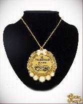 Медаль с Розочками на цепочке Любимой жене за веру и верность элит
