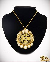 Медаль с Розочками на цепочке Лучшая мама на свете элит