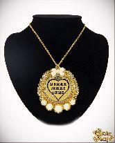 Медаль с Розочками на цепочке За большое любящее сердце элит