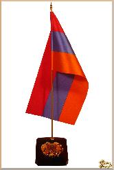 Герб и знамя Традиционная из обсидиана