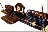 Письменный набор Люкс из обсидиана