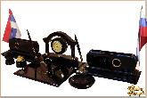 Письменный набор Элегант с комплектацией из обсидиана