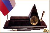 Письменный набор Пирамида из обсидиана