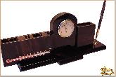 Мини письменный набор Триумф (с термометром) из обсидиана