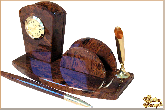 Мини письменный набор Арка из обсидиана