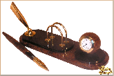 Мини письменный набор Оператор из обсидиана