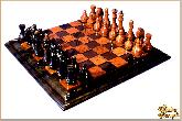 Шахматы Классические большие из обсидиана