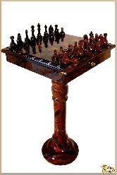 Шахматы Уникальный из обсидиана
