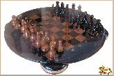 Шахматы Гармония из обсидиана