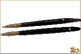 Ручка Циркон из обсидиана
