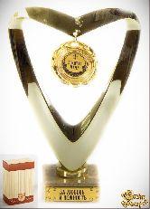 Кубок подарочный Сердце Золотая мама