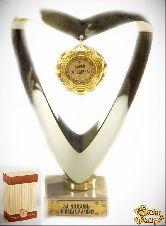 Кубок подарочный Сердце Super женщина