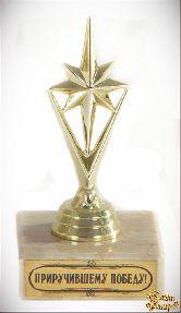 Кубок подарочный Звезда победы.Приручившему победу!
