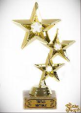 Кубок подарочный Три звезды Звезда Востока!