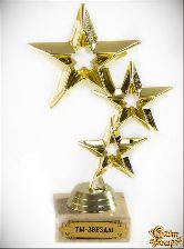 Кубок подарочный Три звезды Ты - звезда!