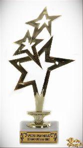 Кубок подарочный Звездный салют Лучшему среди равных, первому среди лучших!